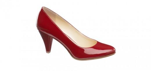pantof rosu